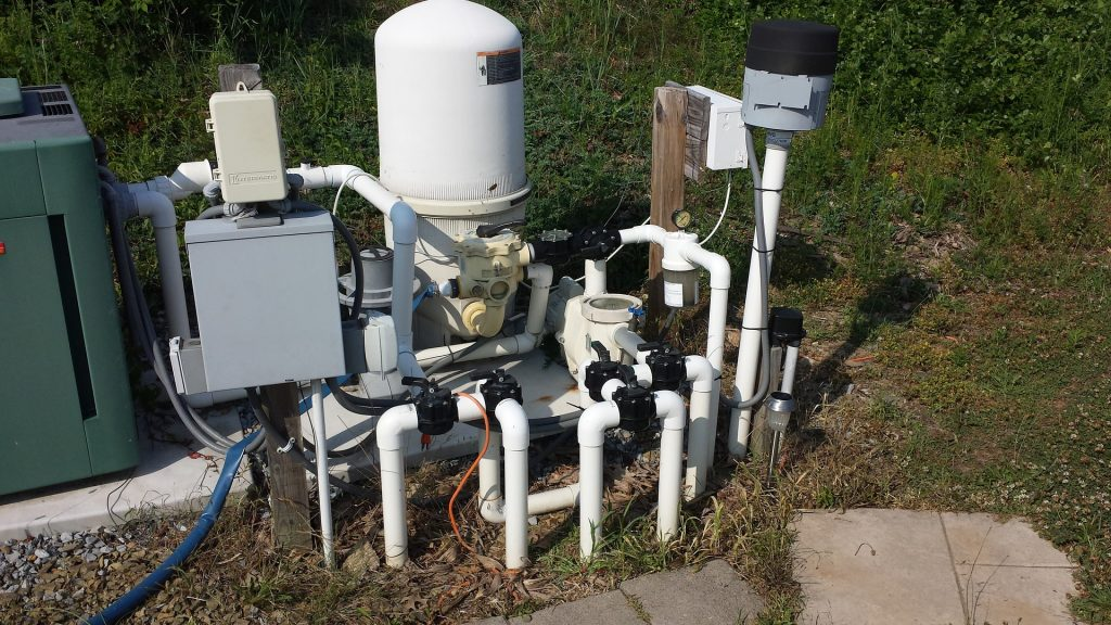pool filter pump system